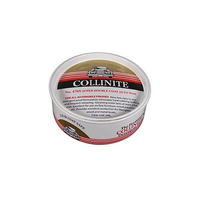 Collinite 476S Super Double Coat Auto Wax 9oz + Applicator & Microfibre