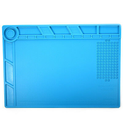 35x25cm Silicone Heat Insulation Pad With Built-in Scale Ruler and Magnatic Area