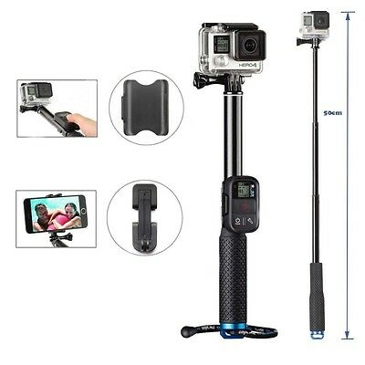 Extendable Selfie Pole Telescopic Monopod Handheld Stick For GoPro Hero 6 5 4 3+