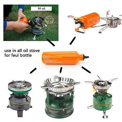 Great BRS-102 Camping Stove Oil Bottle Stove and Alcohol Stove Fuel Bottle 530ml