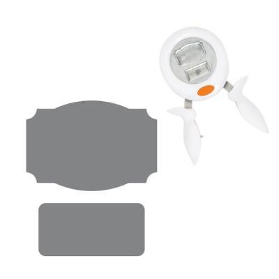 FISKARS hand SQUEEZE PUNCH extra large Labels tags 1024413