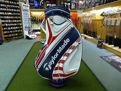 TaylorMade Golf 2017 US Open Tour Staff Bag - Limited Edition Red, White & Blue