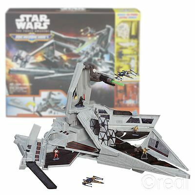 New Star Wars First Order Star Destroyer Micro Machines Playset Figures Official