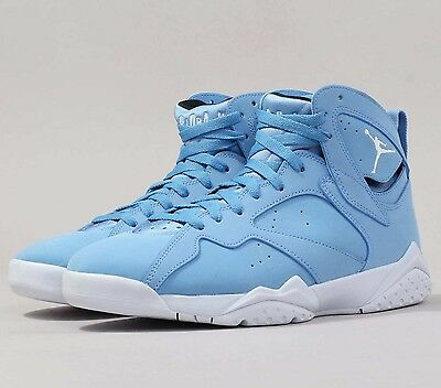 online store 54edc c7bb5 Air Jordan 7 Retro VII Pantone University Blue 304775-400 Basketball Shoes  NIB