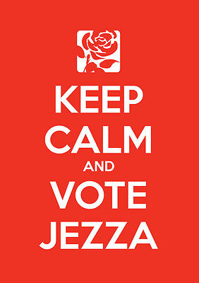 Keep Calm Vote Jeremy Corbyn, Labour, Election, Wall Art, Poster, All Sizes (12)