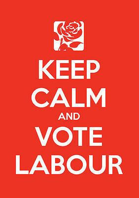 Keep Calm Vote Jeremy Corbyn, Labour, Election, Wall Art, Poster, All Sizes (17)