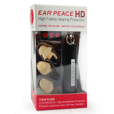 Ear Peace HD | High Fidelity Hearing Protection | Gehörschutz