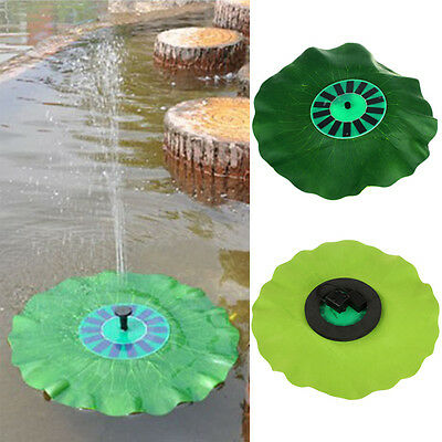 Solar-Powered Decorative Fountain with Highly Efficient Solar Panel & Brushles