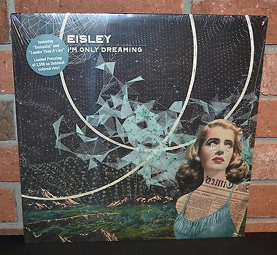 EISLEY - I'm Only Dreaming, Limited OATMEAL COLORED VINYL LP + DL New & Sealed!