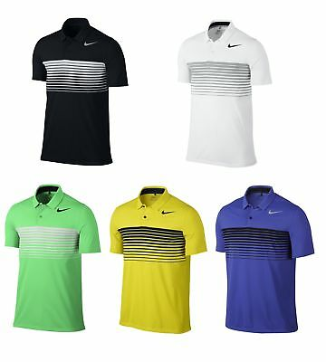2017 Nike Mobility Speed Stripe Polo Golf Shirt Mens 833099 - Pick Size & Color