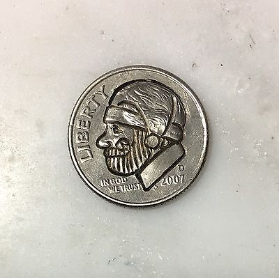 Sandy Claws - Hobo Nickel ***Rev. Tye's Stache*** #HBN26910