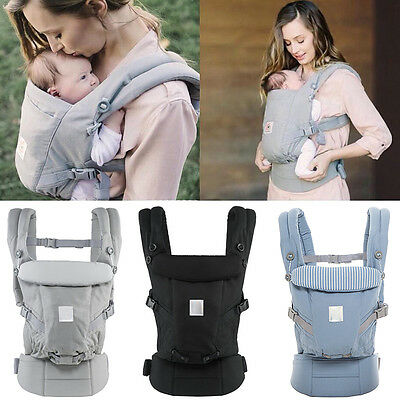 Adapt 3 Position Infant Baby Carrier Ergo Breathable Safety Adjustable Backpack