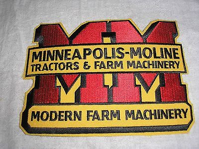 Minneapolis Moline Large Tractor Patch