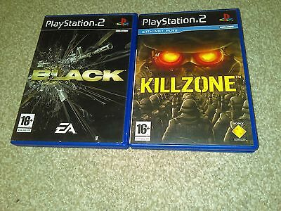 Sony_PlayStation_PS2_Games_Bundle_Black_&_killzone_pal__________________________