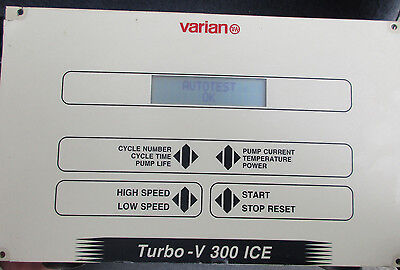 Varian-Turbo-V-300-ICE-Turbo-Vacuum-Pump-Controller-TV-Turbomolecular-9699433