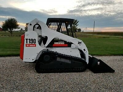 2012 Bobcat T190 Track  Skid Steer Loader  Reman Engine