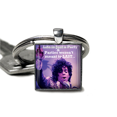Prince keyring Prince Quote Party Keyring Handmade in the UK by Dandan Designs