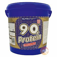 Nutrisport 90+ Whey Protein | Low Carb | All Flavours &  Sizes | 908G |2.5Kg|5Kg