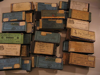 (295) Glass Stereoview Slides Verascope