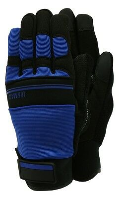 Town & Country Ultimax Gardening Work Gloves Blue & Black - Large