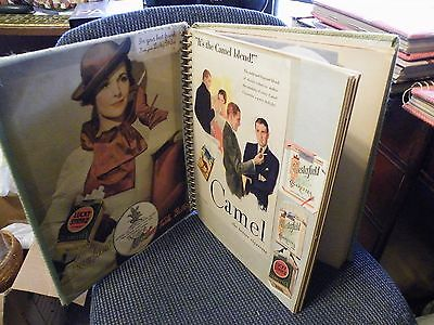 Large Lot Of Misc.ads 1900-1940..31-Two Side Pages Full!!  (E5)
