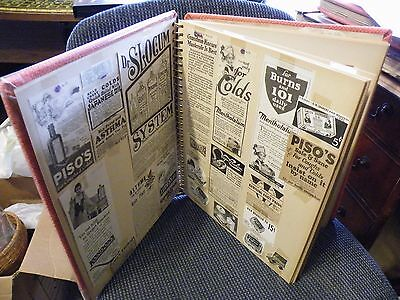 """Lot Of Ladies Beauty+Ads -1890""""s-1930+..19-Two Side Pages!!  (E6)"""
