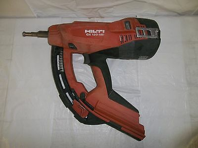 Hilti Gx 120-Me Fully Automatic Gas Actuated Nailer Nail Gun Fastening Tool