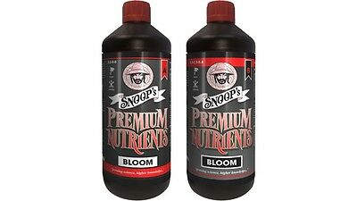 Snoops Premium nutrients BLOOM COCO 1L A AND B hydroponics growing NEW