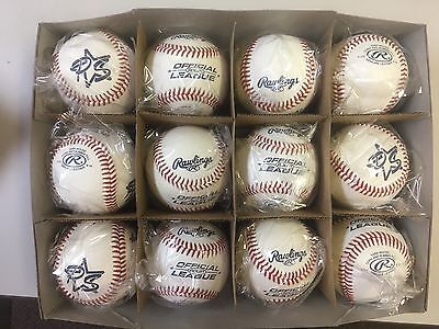 10 Dozen Case Of New Rawlings Rolb1 Official League Baseballs Free Shipping!