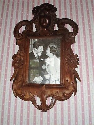 Vintage photo frames from Italy. Hand carved wood.