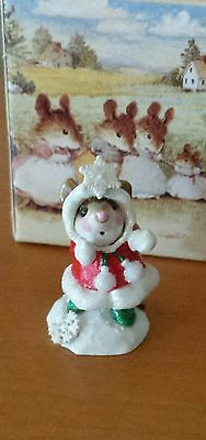 "Wee Forest Folk, M-275  ""Crystal""  Red LIMITED EDITION Mint"