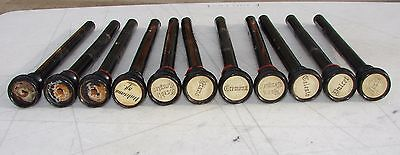 11 Stop Pulls Knobs from Antique Chicago Cottage Pump Organ Used Repurpose Craft