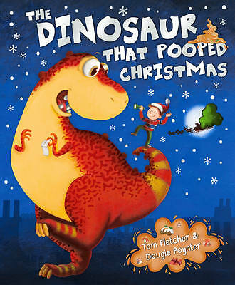 The Dinosaur That Pooped Christmas-ExLibrary
