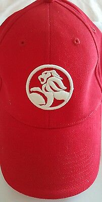 Holden Official Merchandise Red Cap New With Out Tags