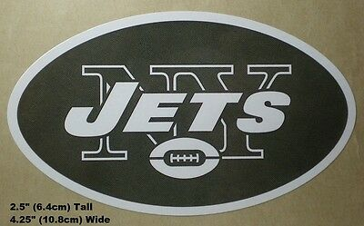 New York Jets NFL Decal Stickers Football Team Logo -  Your Choice