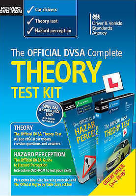 Official DVSA Complete Theory Test Kit for PC and Mac REVISED EDITION 2 DVD PACK
