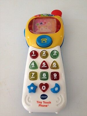 Vtech Tiny Touch Phone - see how it works b4 buying - check out YouTube link