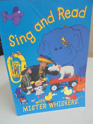 Sing and Read with Mister Whiskers - Childrens Educational Music with CD