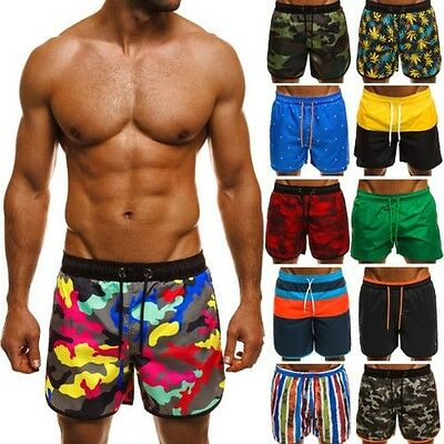 ozonee ATHLETIC UOMO COSTUME DA BAGNO SHORTS schwimmshort Pantaloncini MIX