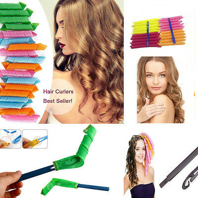 Sale DIY Hair Roller Curlers 30-55 CM Magic Circle Twist Spiral Styling Tools