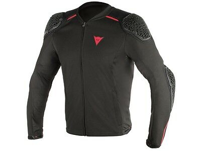 Dainese Pro Armor black motorcycle Protector jacket Shoulders Elbow Back