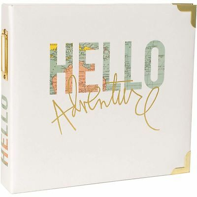 Project Life Hello Scrapbook Album Scrapbooking Papercraft 8 x 8 Inches