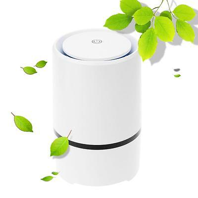 Office Air Cleaner Purifier Room Ionizer Ionic Hepa Fresh Filter