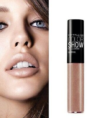 MAYBELLINE GLOSS MAXI TENDANCE ULTRA GLOSSY NUDE Maquillage Rouge Lèvres