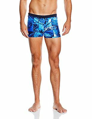 Blau (Speedo Navy/Deep Peri/Powder Blue) (TG. 32) Speedo – Costume parigamba ton