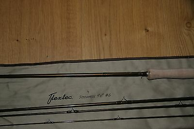 "Flextec Streamtec Trout Fly Fishing Rod 7ft 6"" AFTM #3 - Hard Cordura Case"