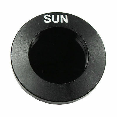 Solar optical filter / astronomical telescope solar filter 1.25 inch (31.7mm)