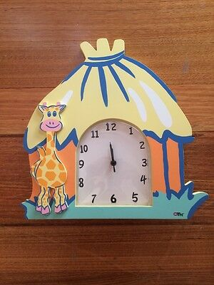 Kids room / nursery Clock Jungle Theme Off The Wall Tamara