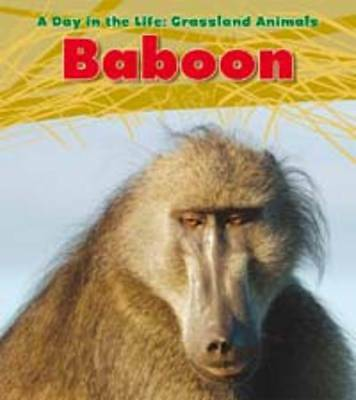Baboon (Read and Learn: a Day in the Life: Grassland Animals)-ExLibrary