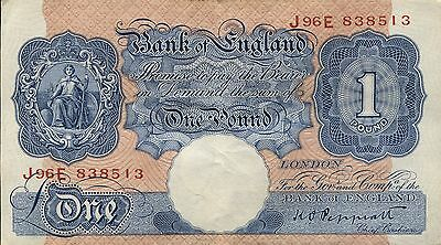 Great Britain - Bank of England P-367a 1 Pound  XF